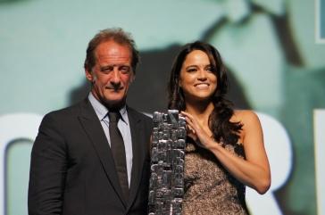 Michelle Rodriguez hommage Festival de Deauville
