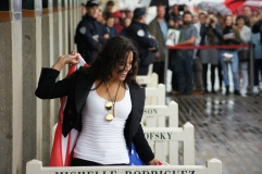 Michelle Rodriguez cabine Deauville