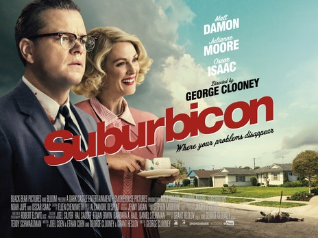 bienvenue a suburbicon ; critique film ; avis film suburbicon