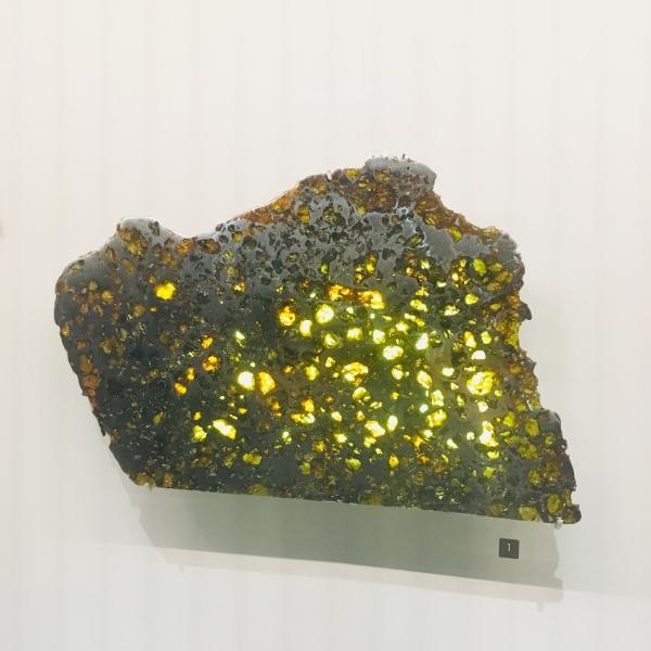 météorite ; entre ciel et terre ; muséum d'histoire naturelle