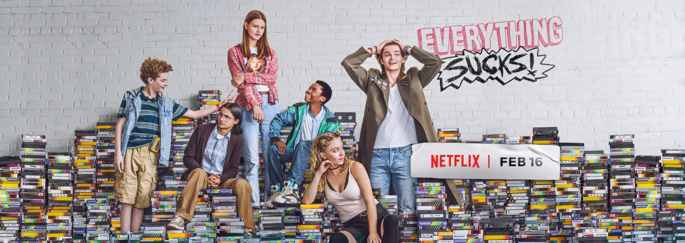 everything sucks, critique, série, netflix, adolescents