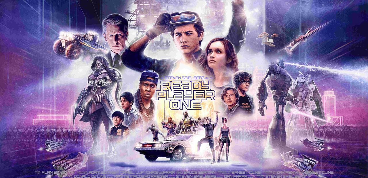 Ready Player One Steven Spielberg Olivia Cooke Tye Sheridan