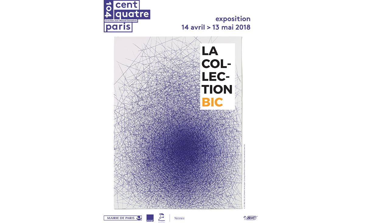 La collection BIC le 104 centquatre paris avis critique