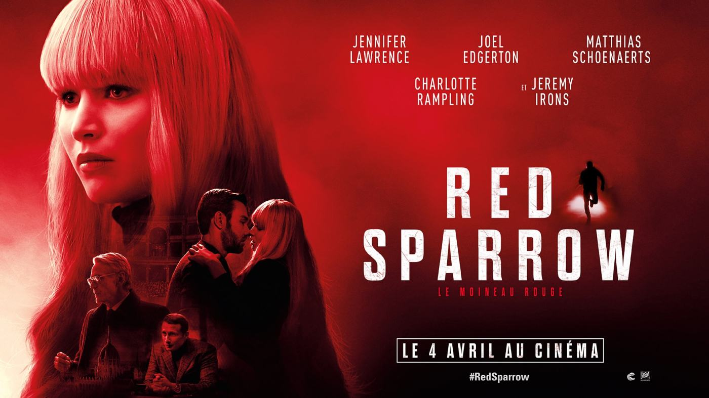 Red Sparrow Jennifer Lawrence critique avis