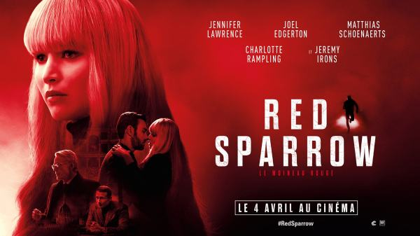 Red Sparrow Jennifer Lawrence critique avis