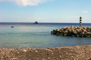 Madère port bateau sea