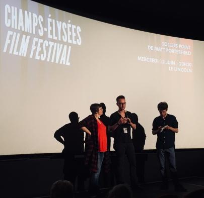 Matthew Poterfield ; interview; champs elysées film festival 2018 ; avis ; critique