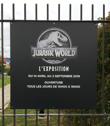 Jurassic world exposition ; critique ; avis