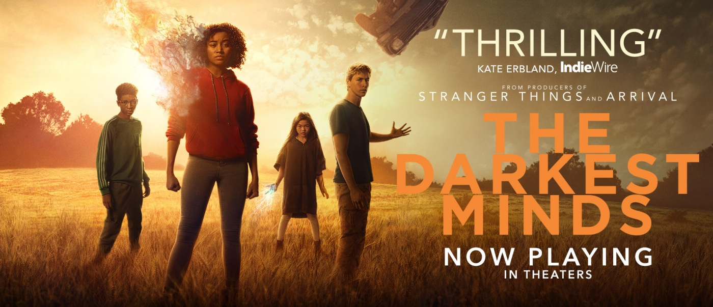 critique, avis ; darkest minds ; movie ; book ; stranger things ; patrick gibson