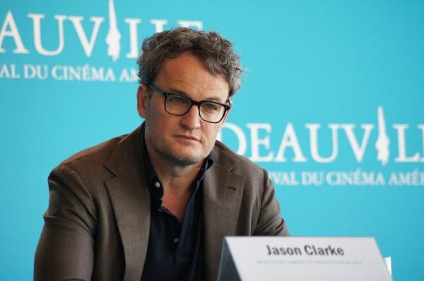 Jason Clarke; conférence de presse ; deauville ; festival ; le secret des kennedy