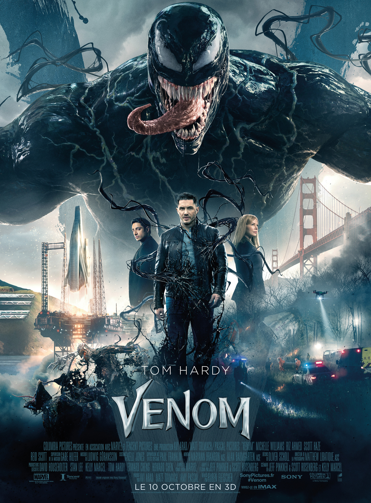 Venom film, Tom Hardy, Marvel