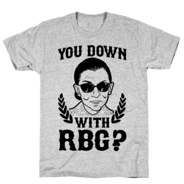 Tee shirt RBG