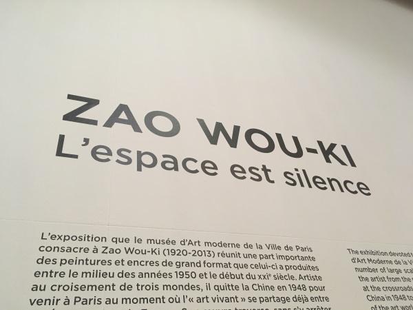 zao wou-ki ; expo musée d'art moderne; avis