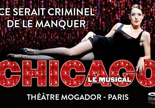 théâtre; Mogador; comédie musicale; Sophia Essaïdi;Jean-Luc Guizonne; cabaret; Chicago