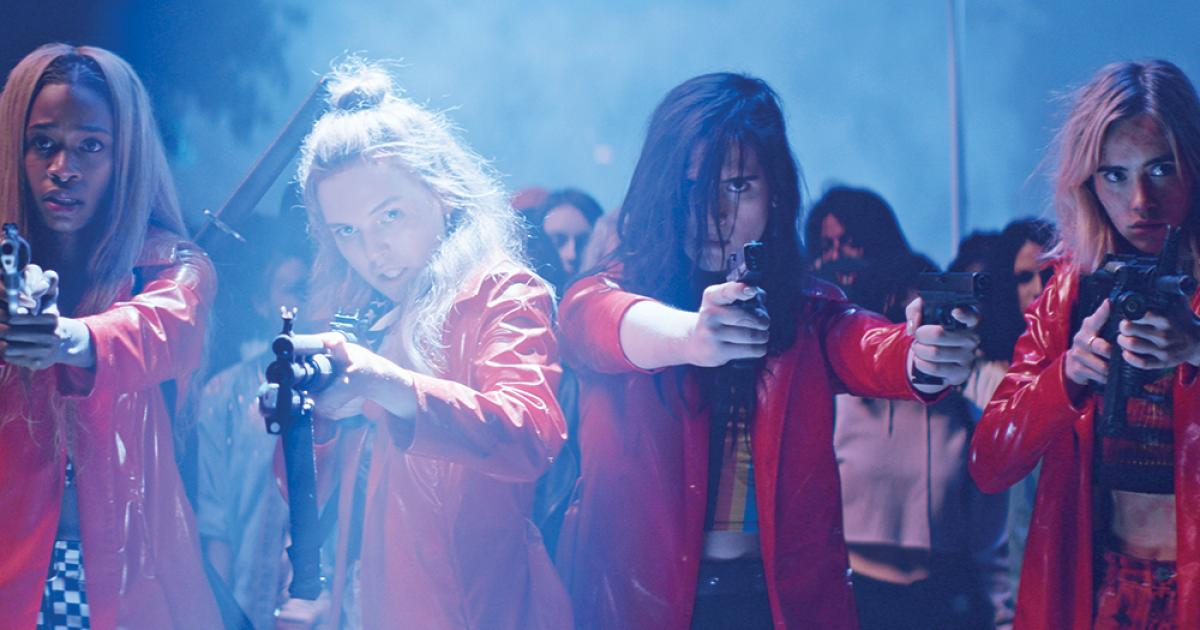 assassination nation ; PIFFF ; Sundance ; teeanager ; feministe ; LGBTQ ; girls power ; salem ; trash ; horror ; comédie