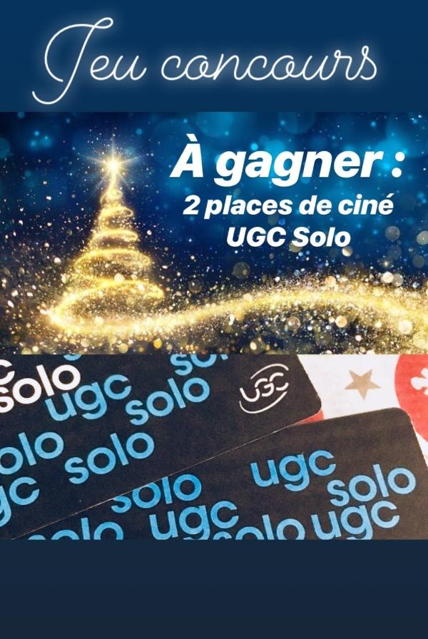 jeu ; concours ; Facebook ; place ; cinéma ; UGC ; passion ; noel ; cadeau