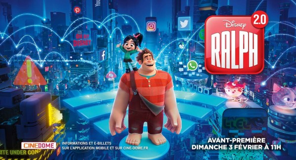 ralph 2.0 avis; critique ralph 2.0; disney; geek