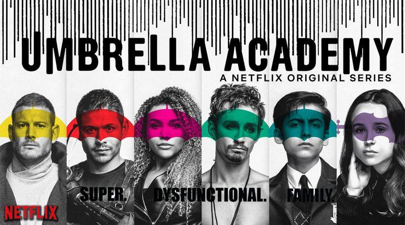 Umbrella academy ; ellen page ; super héro ; critique ; avis ; série ; netflix ; review ; tom hopper ; robert sheedan ; docteur who ; x-men ; flatliner ; juno ; comic; comic book ; bande dessinée