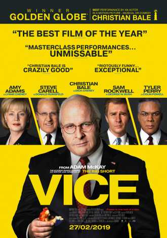 vice avis; critique vice; Christian Bale; Amy adams; Adam Mc Kay; drame; politique