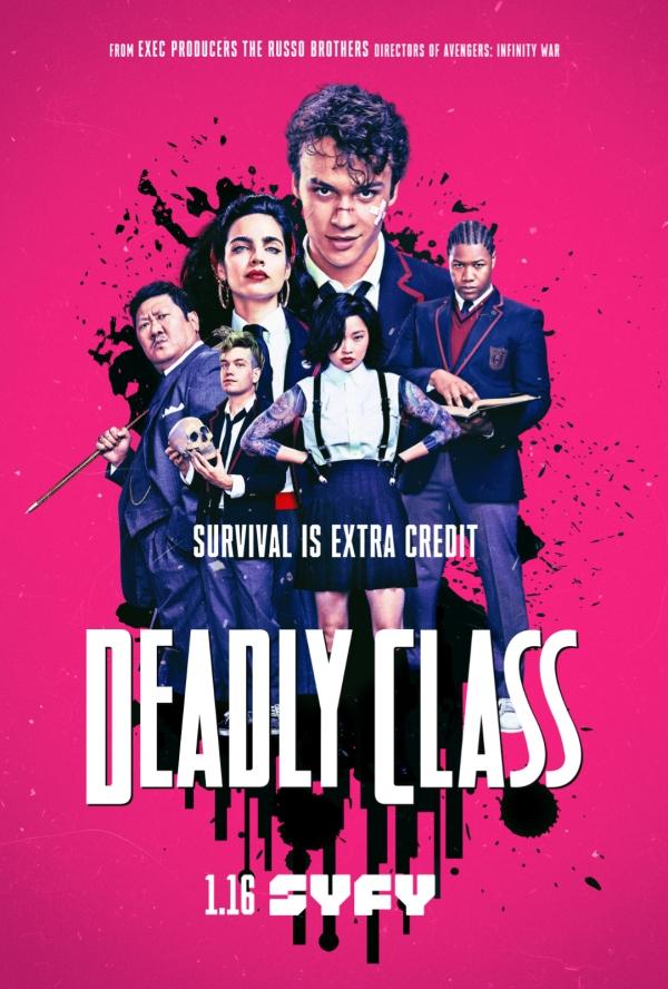 avis Deadly Class; critique Deadly Class; syfy
