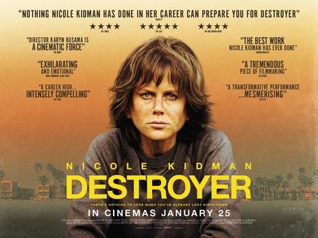 destroyer avis; Nicole Kidman; critique destroyer