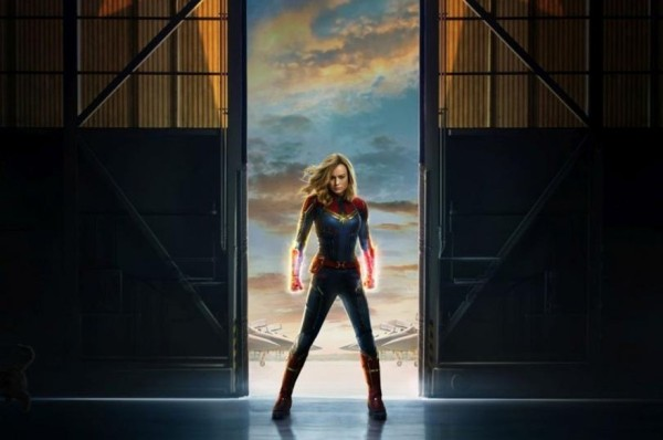 Captain Marvel avis; critique Captain Marvel; Brie Larson; Samuel L Jackson; Jude Law