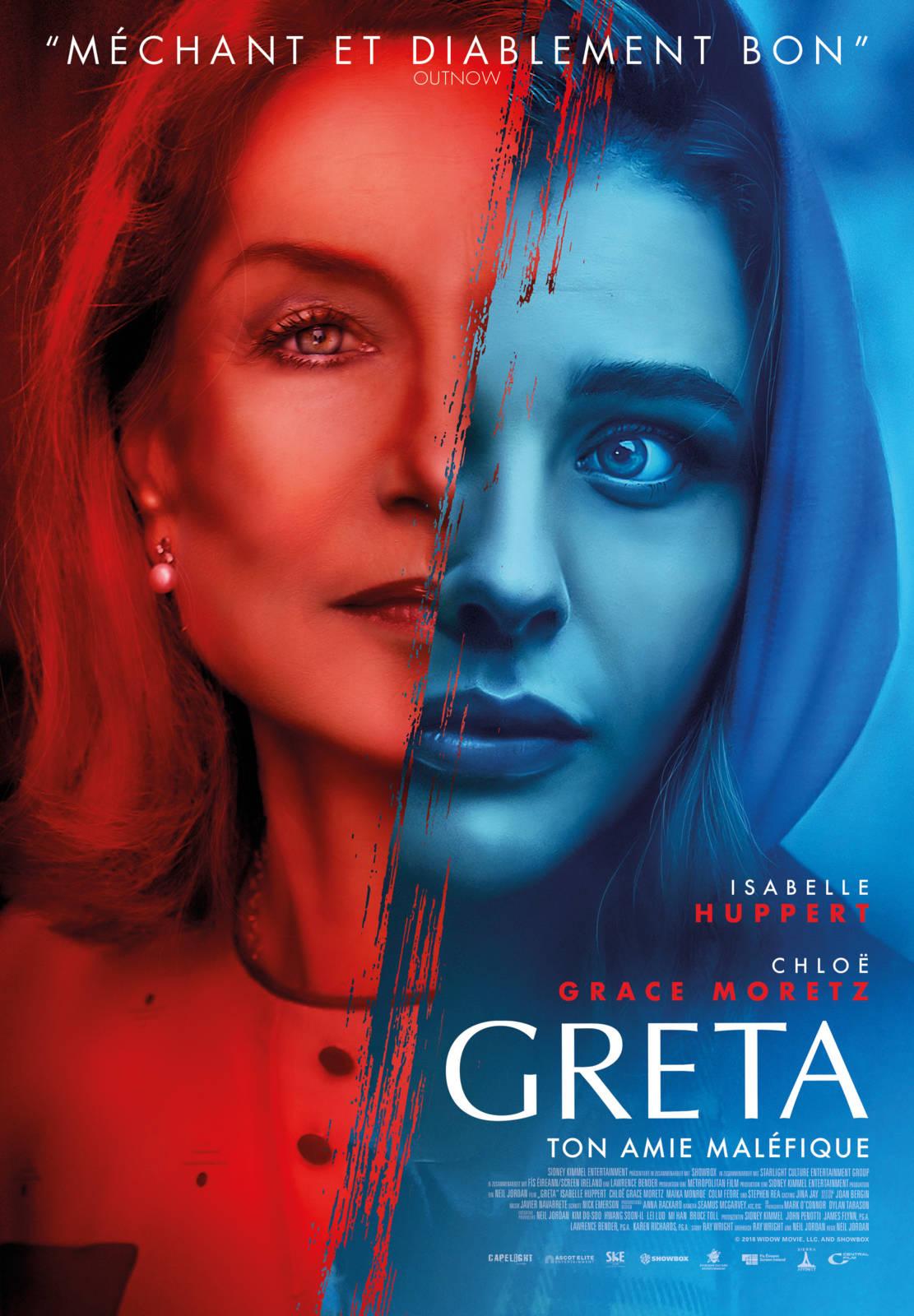 Greta avis;critique Greta; Chloé Grace Moretz; Isabelle Huppert