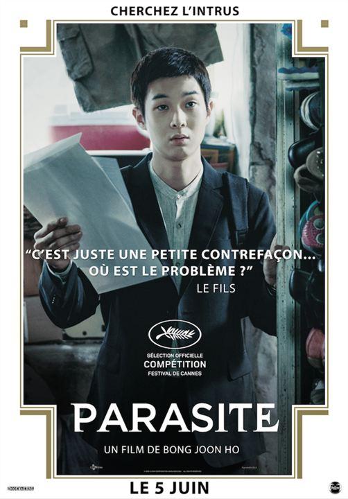 Parasite avis; critique Parasite;