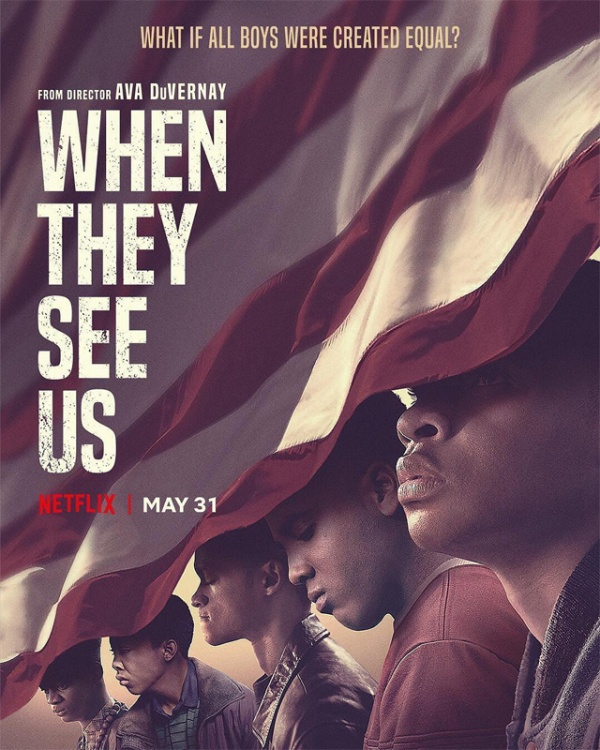 histoire vraie ; netflix ; avis ; critique ; review ; when they see us ; the central park five ; case