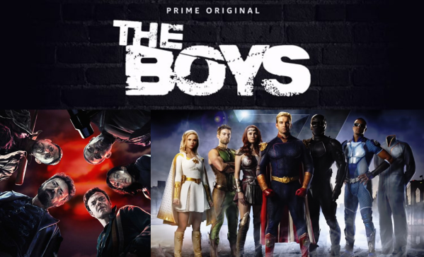 the boys ; comic ; book ; amazon prime ; prime video ; avis ; reviews ; critique ; super heros