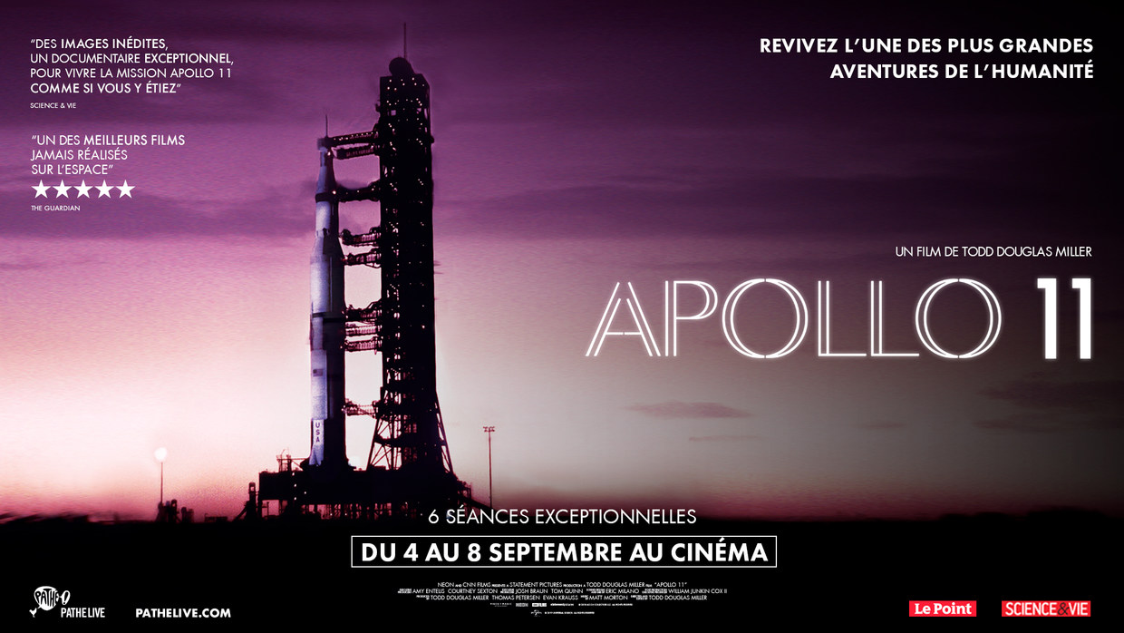 Apollo 11 critique; avis Apollo 11;NASA; documentaire;espace