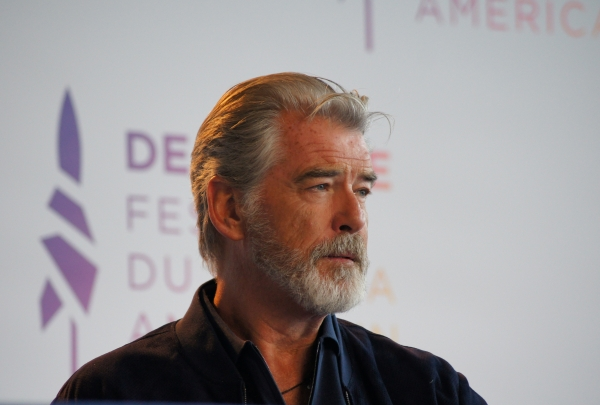 Pierce Brosnan ; deauville ; festival du cinéma americain ; usa ;james bond ; 007 ; goldeneye ; thomas crown ; interview ; critique; avis ; photo ; people