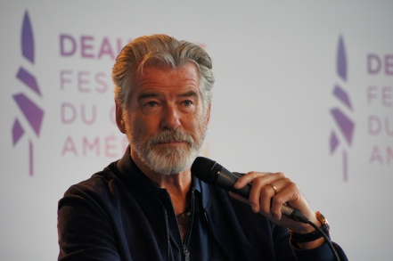 deauville; interview ; critique ; review ; pierce ; brosnan ; thomas crow ; james bond ; goldeney ;007
