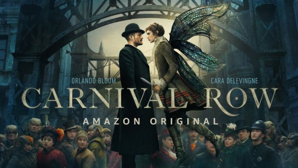 carnival row ; amazon prime ; orlando bloom ; car delevingne ; review ; critique ; avis ; elphe