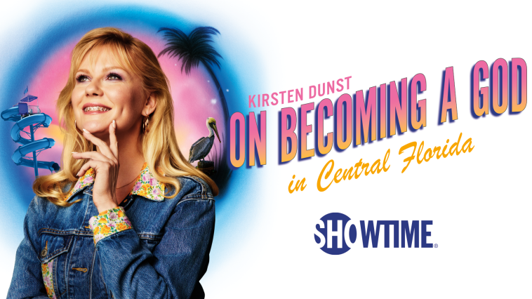 on becoming a god in central florida ; critique ; reviews; kristen dunst ; gossip ; mel rodriguez ; beth ditto ; george clooney ;