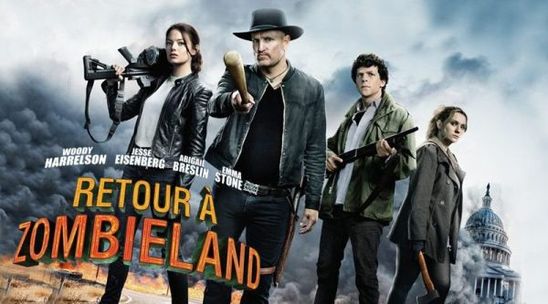 critique ; review ; Retour à Zombieland ; abigail breslin ; zombieland ; bienvenue à zombieland ; jesse eisenberg ; emma stone ; woody harrelson ; zoey deutch ; best movie ; comédie ; apocalypse