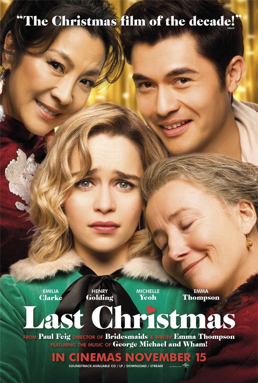 Last Chrismas avis;critiques Last Chrismas; Emilia Clarke; Henry Golding;Emma Thompson