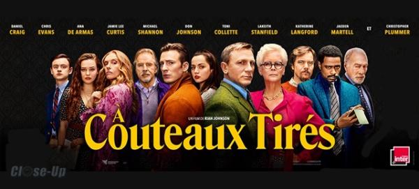 a couteaux tirés avis; critique à couteaux tirés; Daniel Craig;Toni Colette;Chris Evans; Tomme Lee Curtis; policier;cluedo;murder party