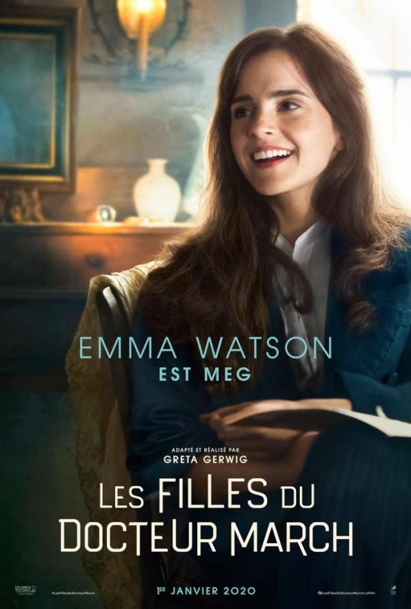 Les filles du docteur March critiques;avis les filles du docteur March; Emma Watson; Satires Ronan;Meryl Streep;Laura Dern;Timoûthée Chalamet;drame;romance