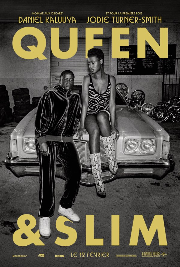 Queen and Slim critique;avis Queen and Slim; Jodie Turner Smith; Daniel Kaluuya