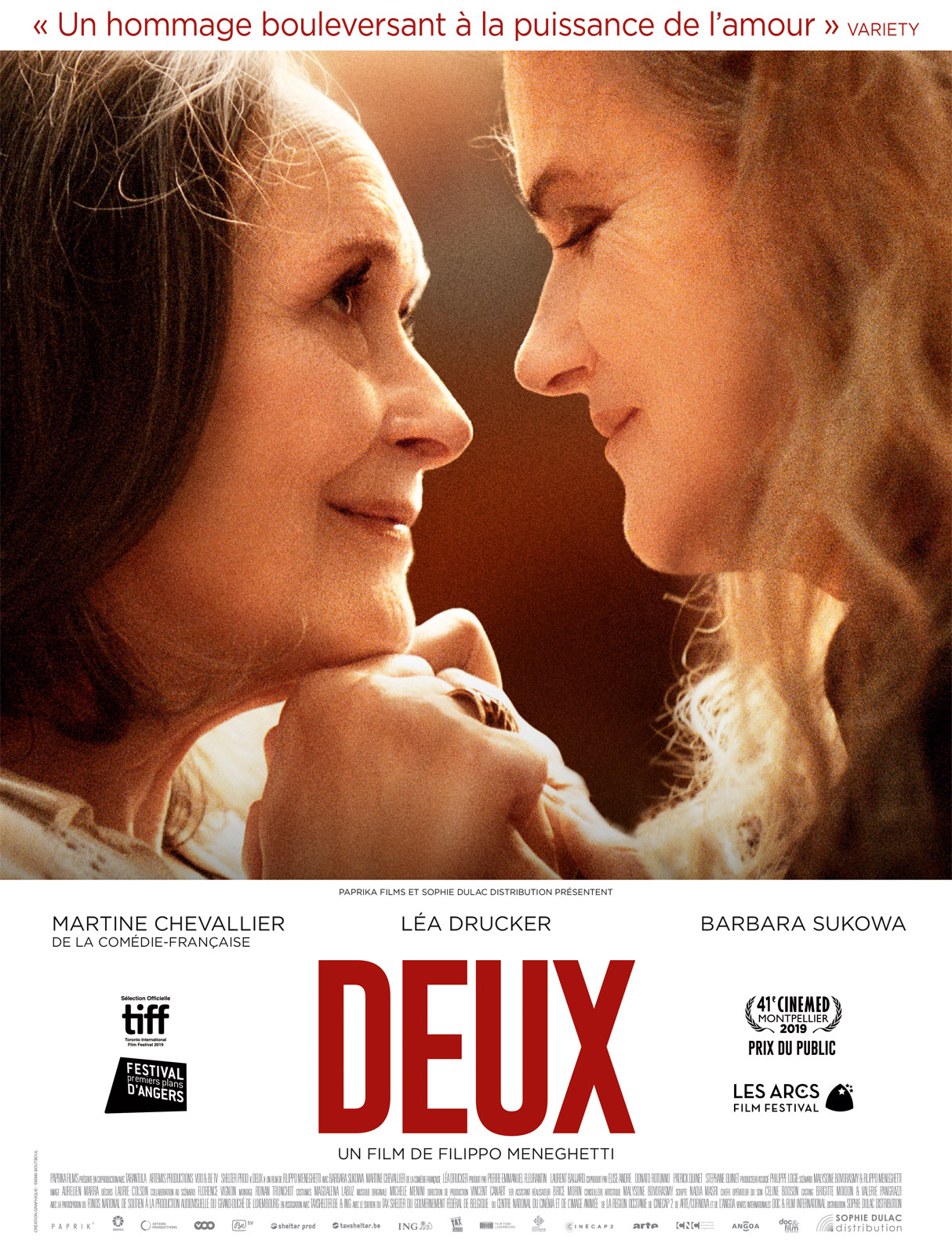 deux film;critiques deux;Léa Drucker; Filipo Meneghetthi