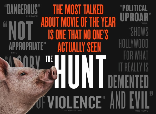 the hunt critiques;avis the hunt; Blumhouse