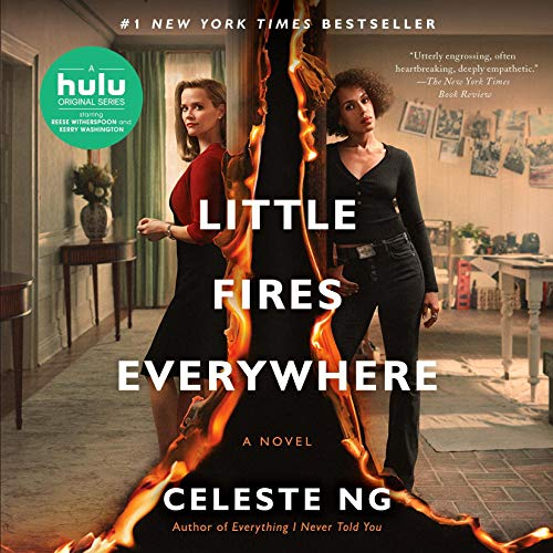 avis little fires eveywhere;critique little fires everywhere; HULU; Reese Witherspoon;Kerry Washinghton