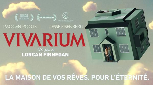 vivarium critiques; avis vivarium; drame;horreur; Jesse Einsenberg;Imogen Poots
