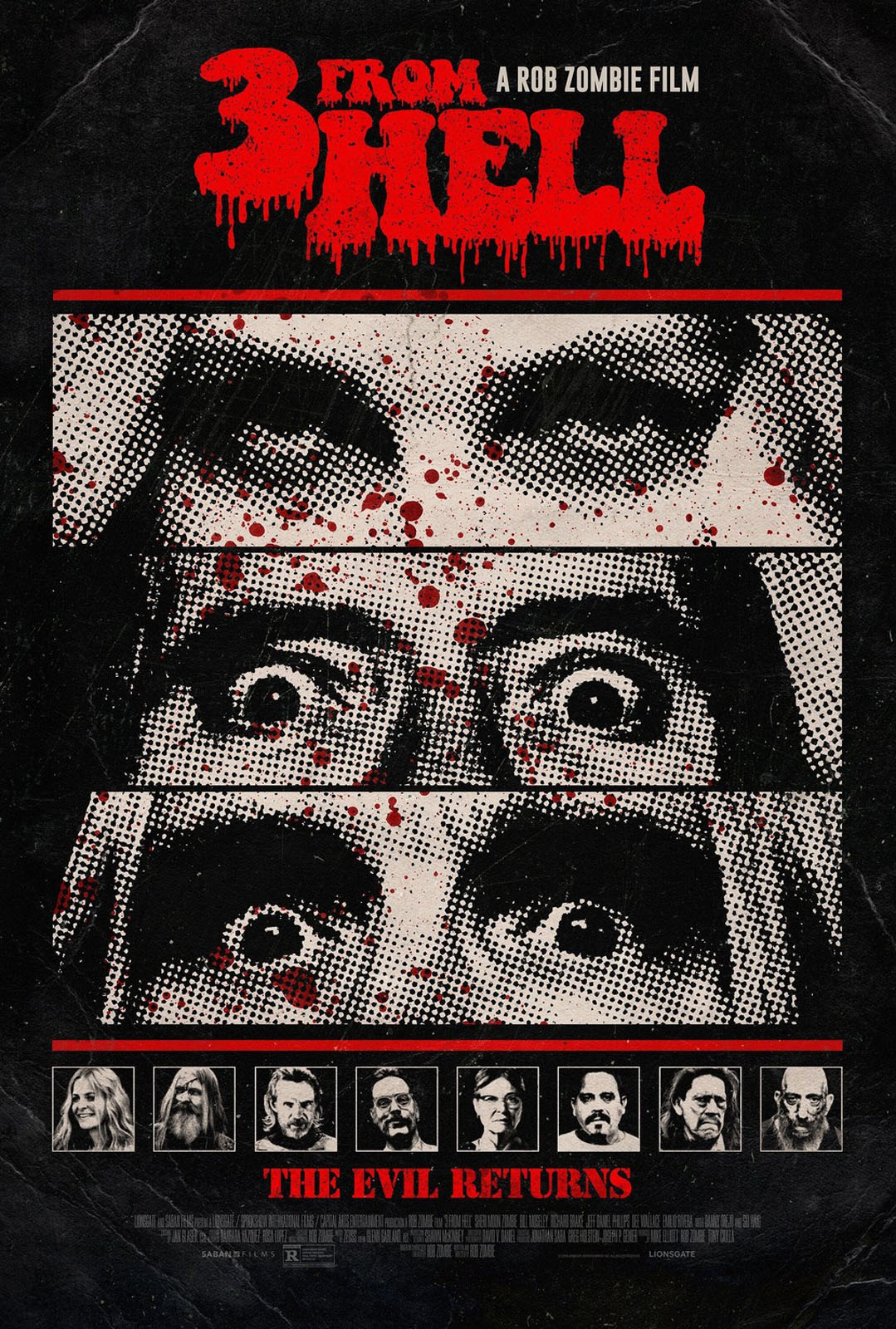 3 from Hell avis; critiques 3 From Hell; Rob Zombie;
