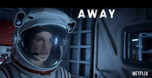 AWAY ; Hilary Swank ; NAS ; NETFLIX ; espace ; critique ; review ; avis