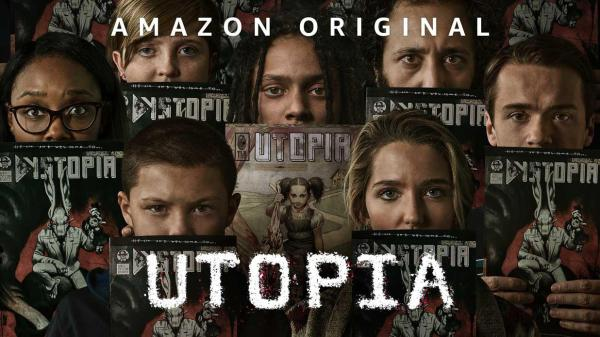 UTOPIA ; amazon prime ; comics ; review ; critique ; avis