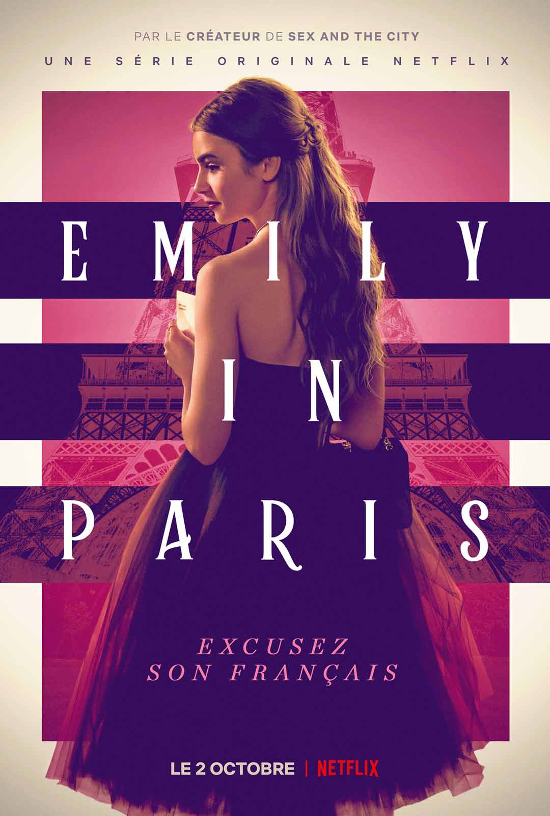 émily in Paris avis; critiques Émily in Paris; romance, Netflix; Lily Collins