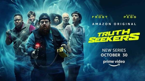 Truth seekers avis; critiques Truth Seekers; Amazon Prime Vidéo; Nick Frost; Simon Pegg; horreur; comédie; comédie anglaise
