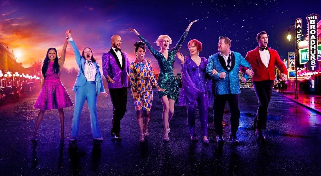The prom critiques; avis the Prom; Netflix; Ryan Murphy; Nicole Kidman; Meryl Streep; James Corden; Kerry Washington;